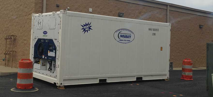 Shipping Container Trailer >> 20 ft Refrigerated Containers - Moon Refrigeration ...